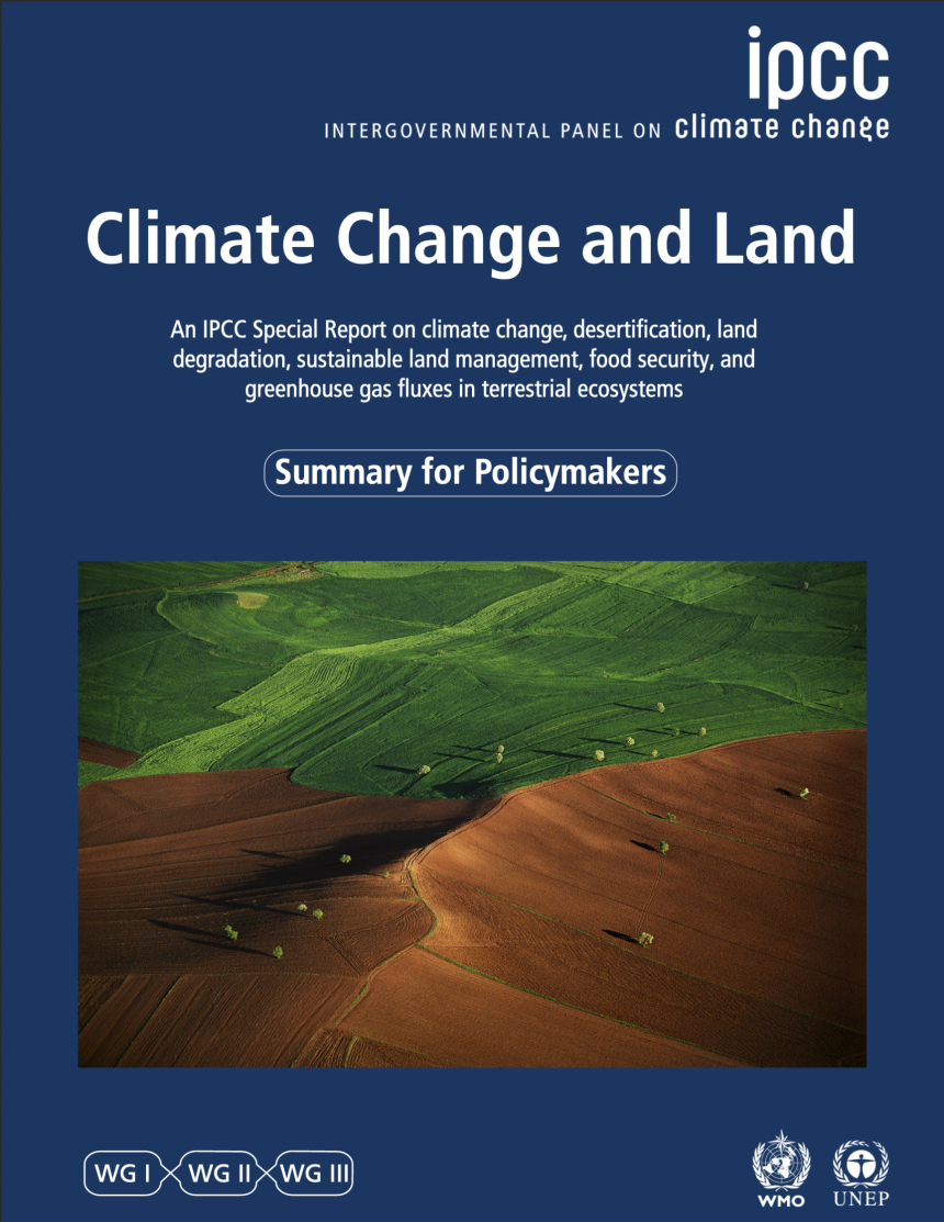 IPCC Sonderbericht Climate Change and Land Cover